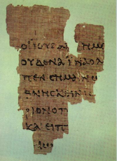 Fragment of the Gospel of John