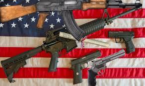 US Flag & Guns