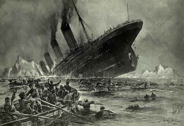 Titanic Going Down